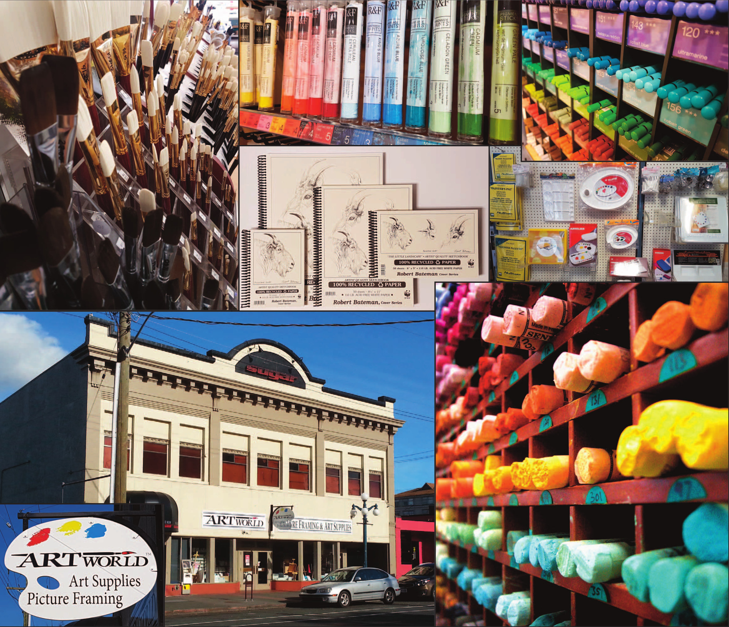 Artworld Picture Framing and Art Supplies - 860 Yates Street Victoria BC V8W 1L8